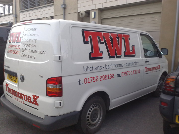 featured artwork vehicle signs plymouth we sign any van